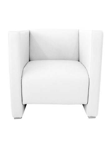 Florida Seating Soft (Night Club & Hotel) ZURICH ARMCHAIR WHITE