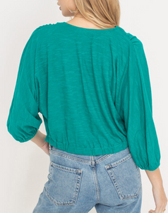 Allison Tie Crop Top