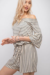 Gwen Off Shoulder Romper