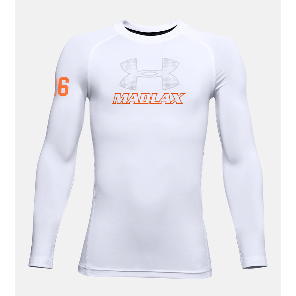 Madlax Boys All-Stars Under Armour Long Sleeve Compression Shirt