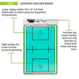 Champion Sports Lacrosse Coaches Board