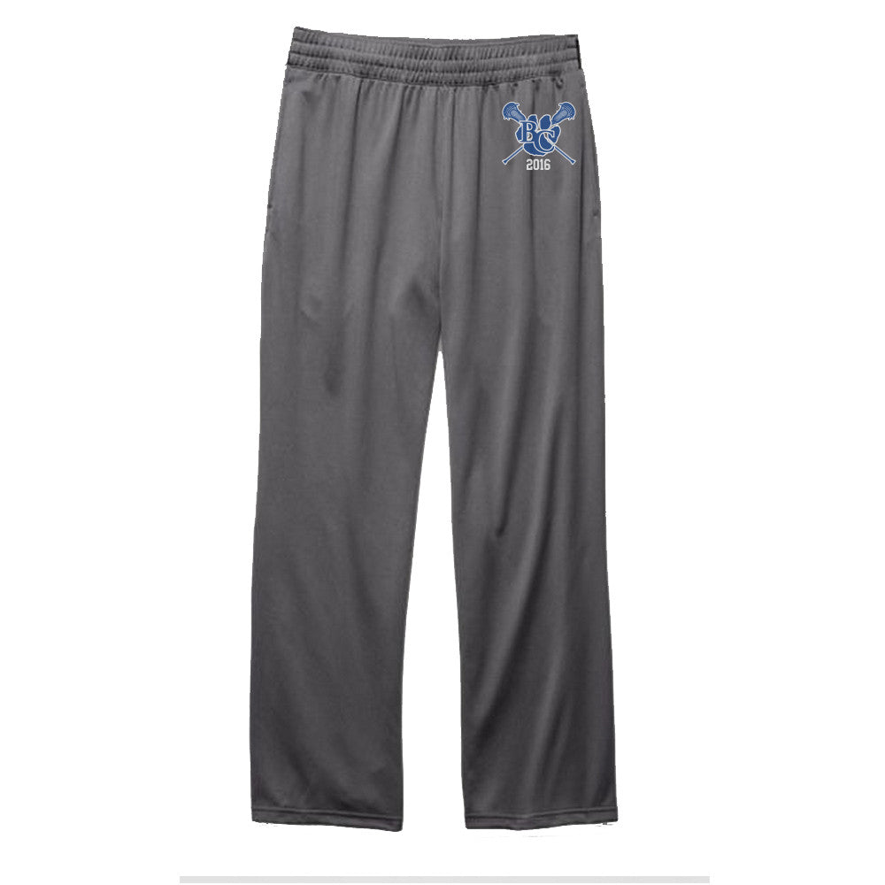 Barron Collier Open Bottom Sweats Sport Grey