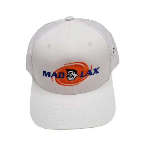 MadGear Madlax White Mesh Back Hat