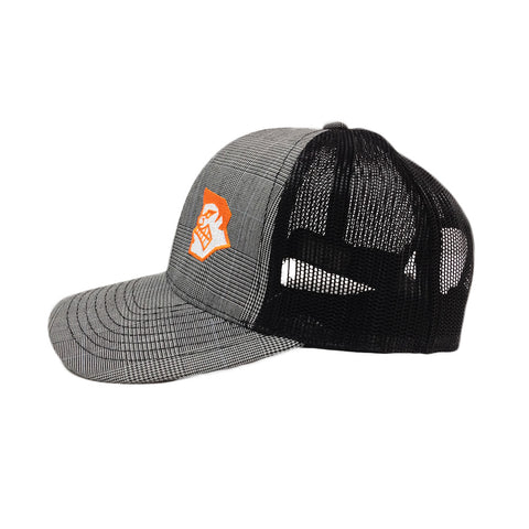 MadGear MadFace Plaid Mesh Back Hat