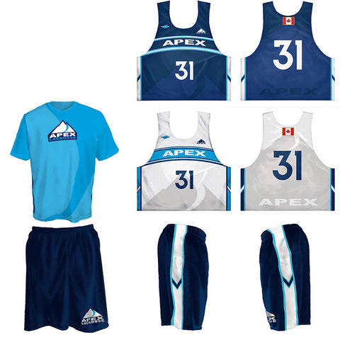 Custom 3-Piece Game Set (Custom Reversible Jersey, Custom Game Shorts, and Custom Shooter)
