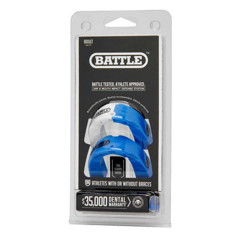 Battle Sports Science Two-Tone Mouthguard Adult