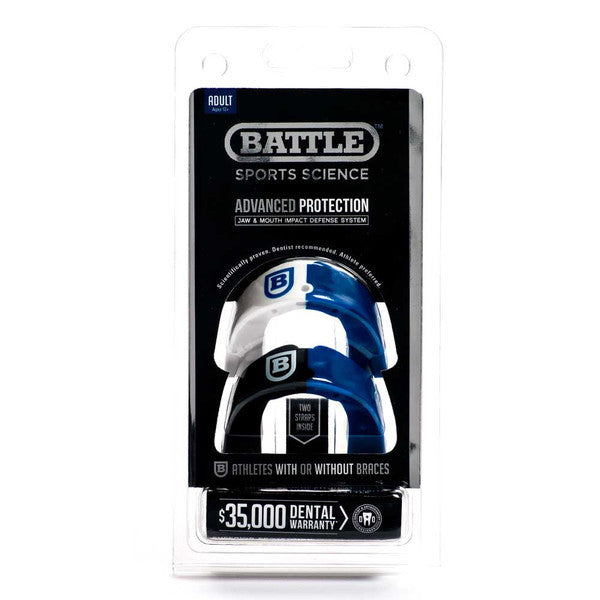 Barron Collier Battle Sports Science Two-Tone Mouthguard Adult