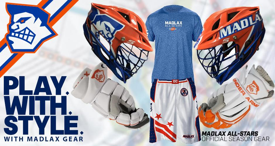 Cascade Helmets!  The Official Helmet of the MLL!