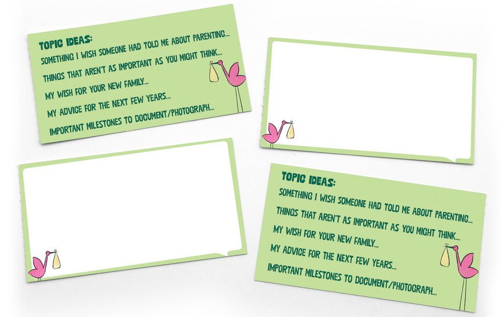 Lunch Notes: Being a New Parent Baby Shower Notes - Box of 15