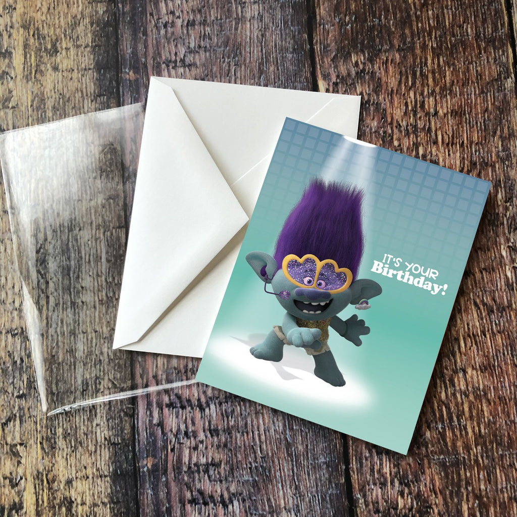 Greeting Card: Trolls, Branch It's Your Birthday! - Pack of 6