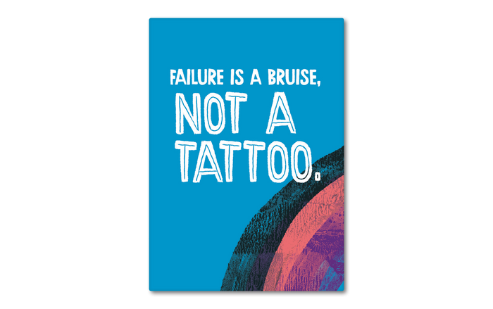Magnet: Failure is a Bruise, Set of 6