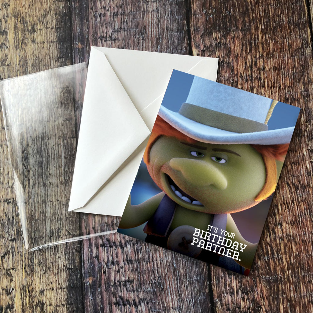 "Hickory ""It's Your Birthday Partner"" Card - Pack of 6"