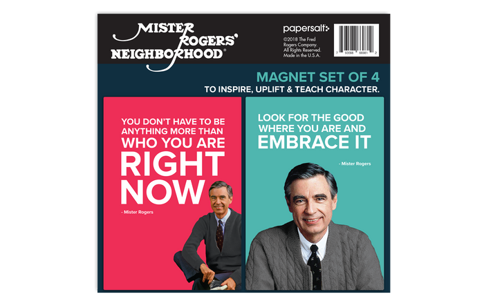 Magnet Set: Mister Rogers Quotes, Set of 4
