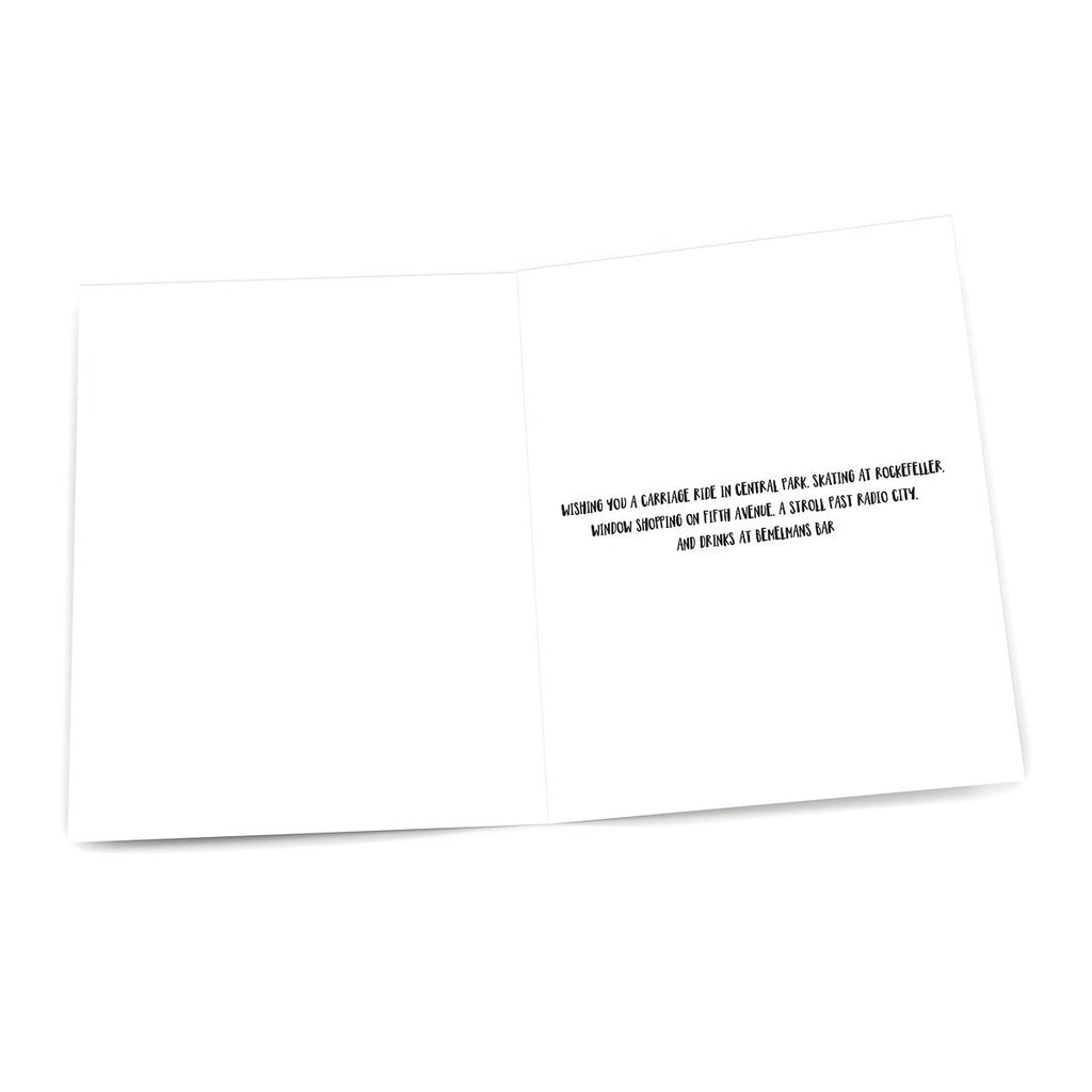Greeting Card: Washington Square Arch Christmas - Pack of 6