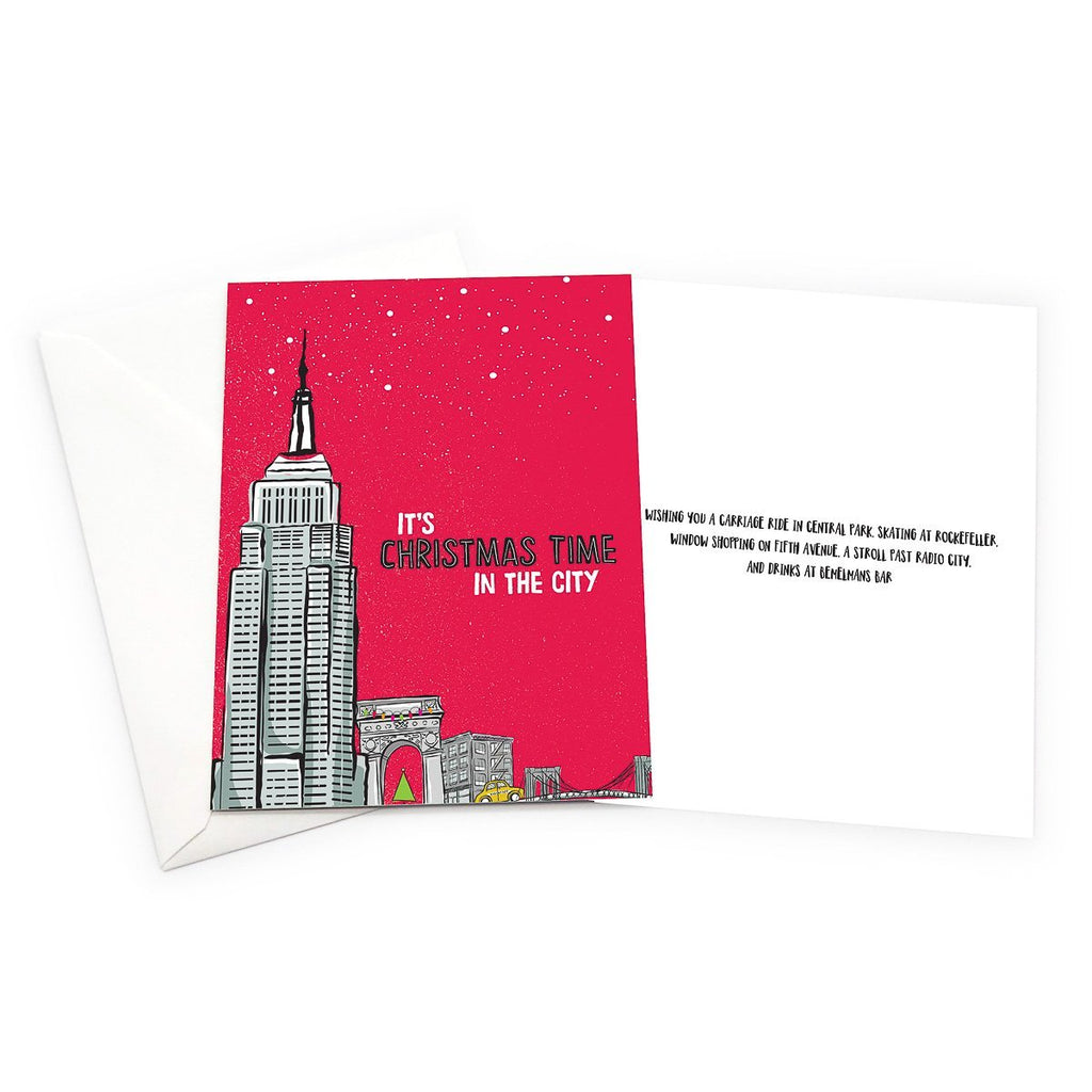 New York City Christmas Card Set - Pack of 6