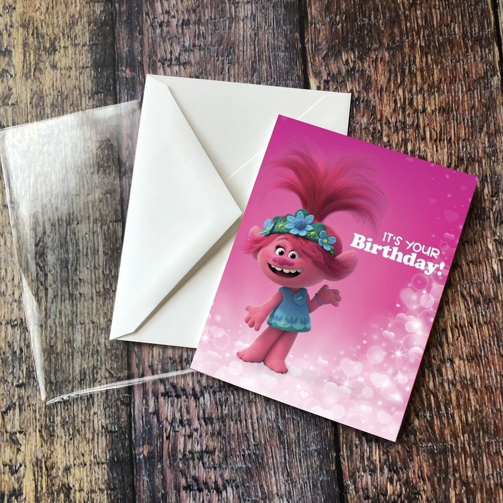 "Queen Poppy ""It's Your Birthday!"" Card - Pack of 6"