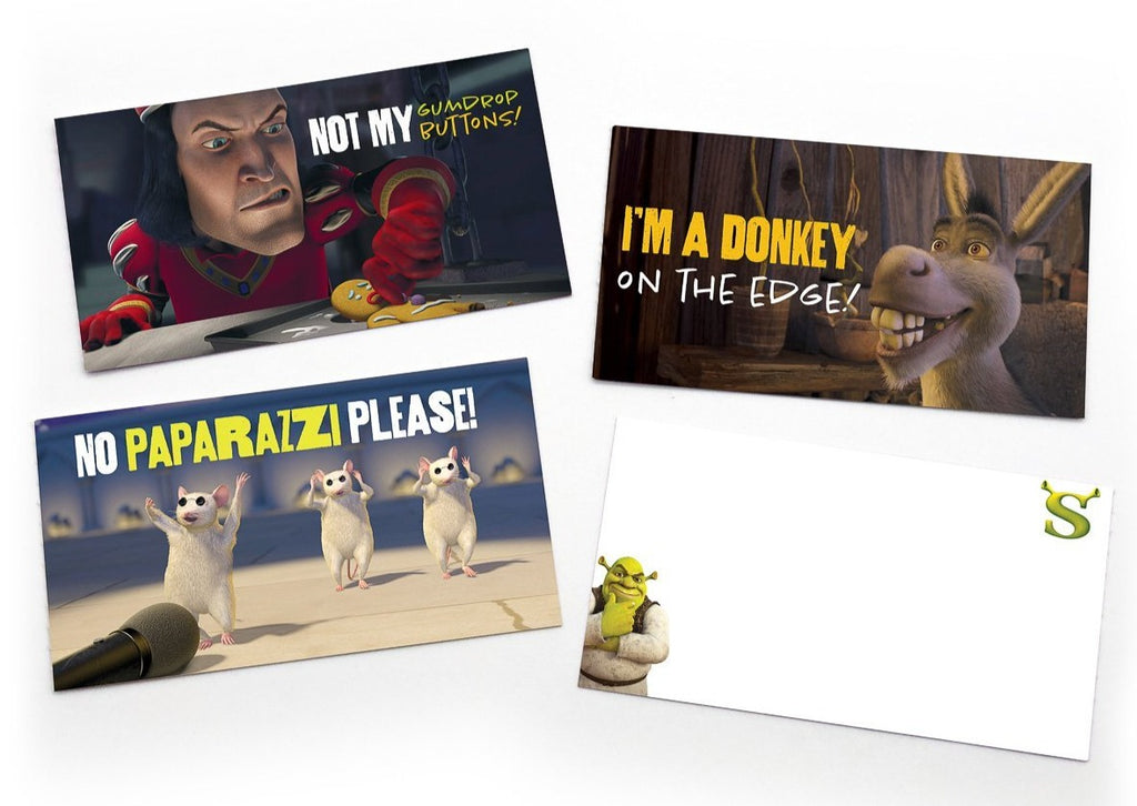 "Shrek Lunch Note Style ""Quote Notes"" - Box of 15"
