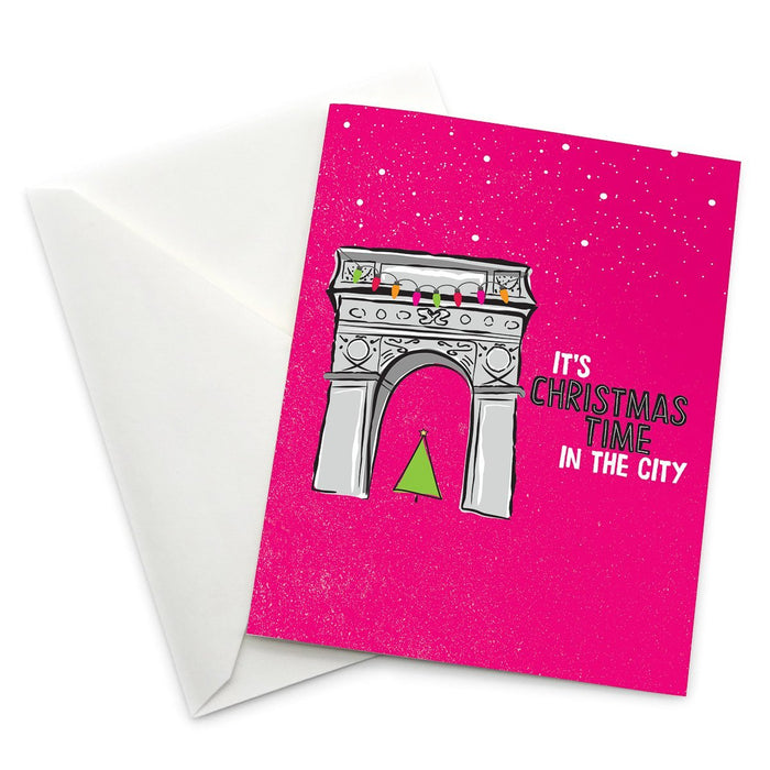 Washington Square Arch Christmas Card - Pack of 6