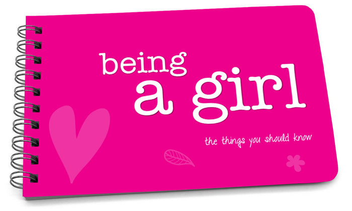 Book: Being a Girl (Original Design) - Pack of 6