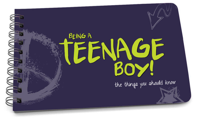 Book: Being a Teenage Boy (Original Design) - Pack of 6