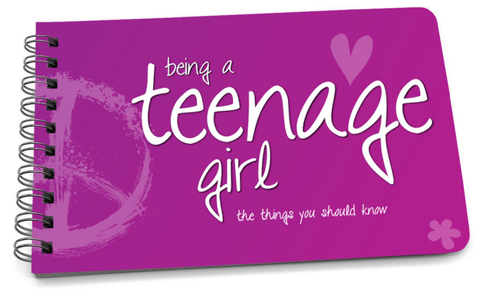 Book: Being a Teenage Girl (Original Design) - Pack of 6