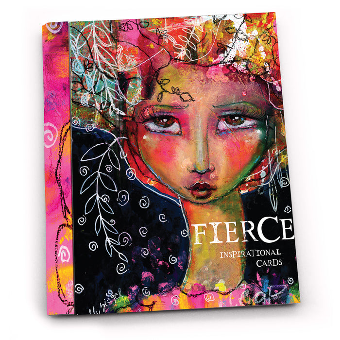 Noteables: Kelly Siegel Fierce Inspirational Cards - Pack of 6