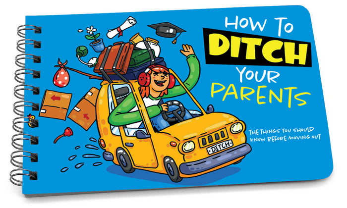 Book: How to Ditch Your Parents - Pack of 6