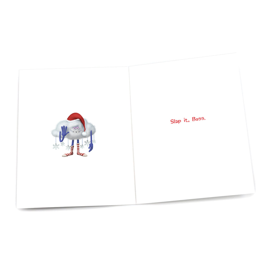 "Cloud Guy ""It's Christmas Time"" Holiday Card - Pack of 6"