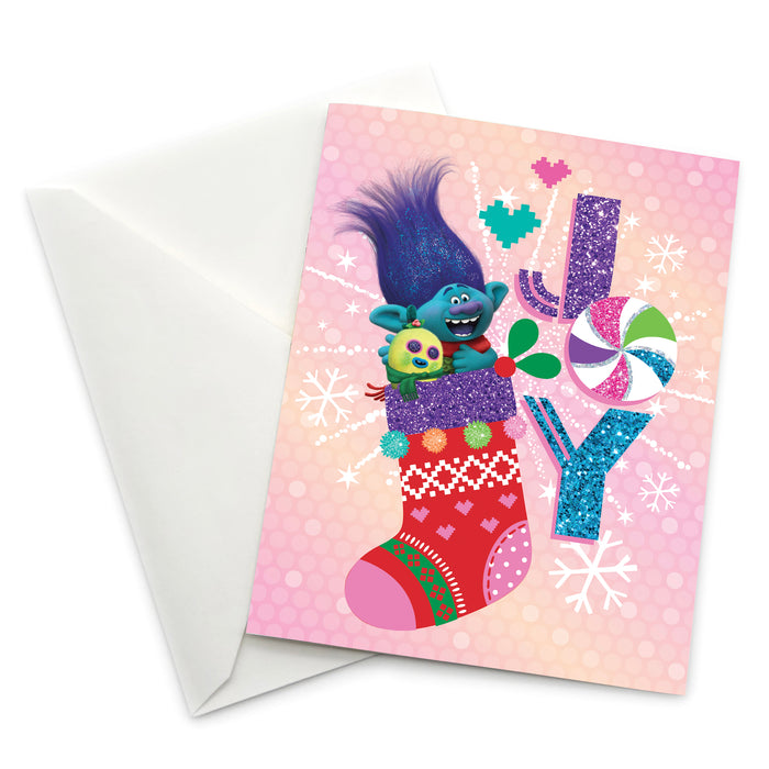 Greeting Card: Trolls, Joy - Pack of 6