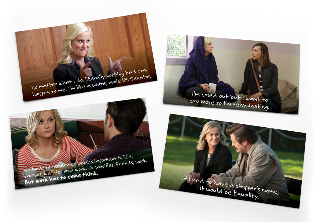 Leslie Knope Notes of Wisdom: Box of 15