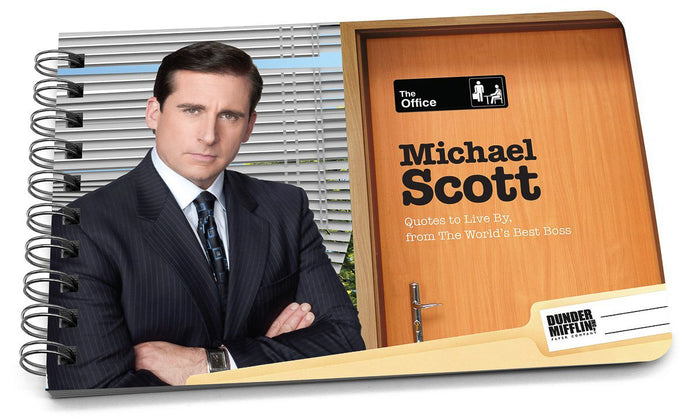 Book: The Office, Michael Scott Quotes to Live By - Pack of 6