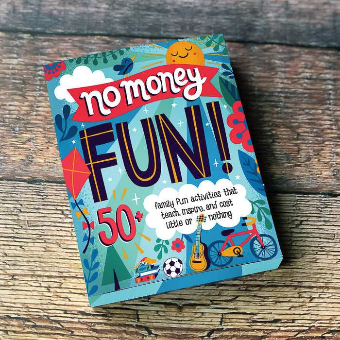 No Money Fun Activity Cards, Pk of 4
