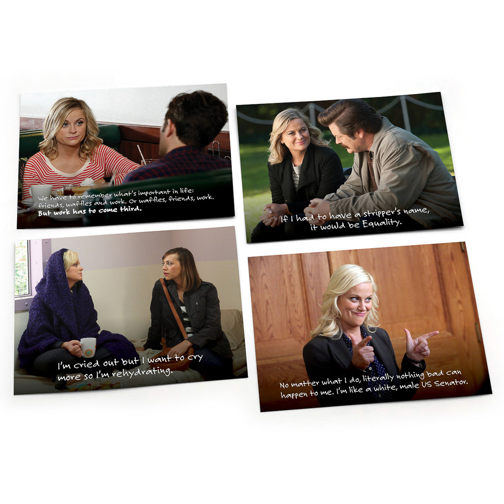 "Leslie Knope Notes of Wisdom ""Noteables"": Pack of 6"