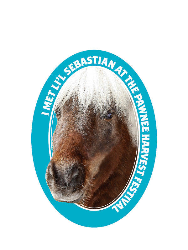 Li'l Sebastian Kiss-Cut Sticker - Pack of 6