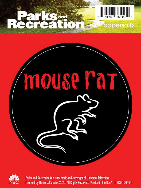 Mouse Rat Kiss-Cut Sticker - Pack of 6