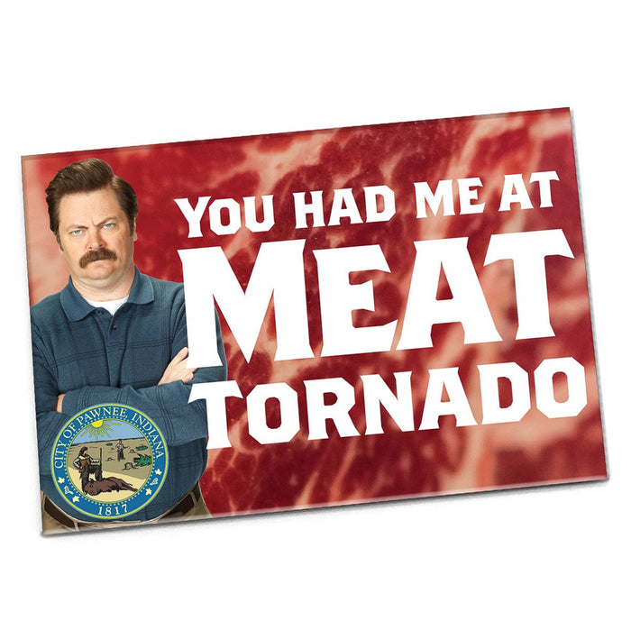 You Had Me at Meat Tornado Magnet