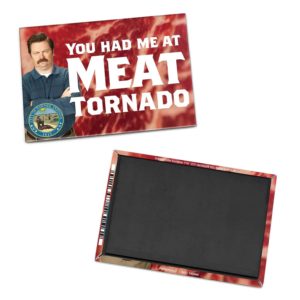 Magnet: Parks and Rec, You Had Me at Meat Tornado - Pack of 6