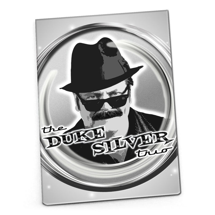 The Duke Silver Trio Magnet