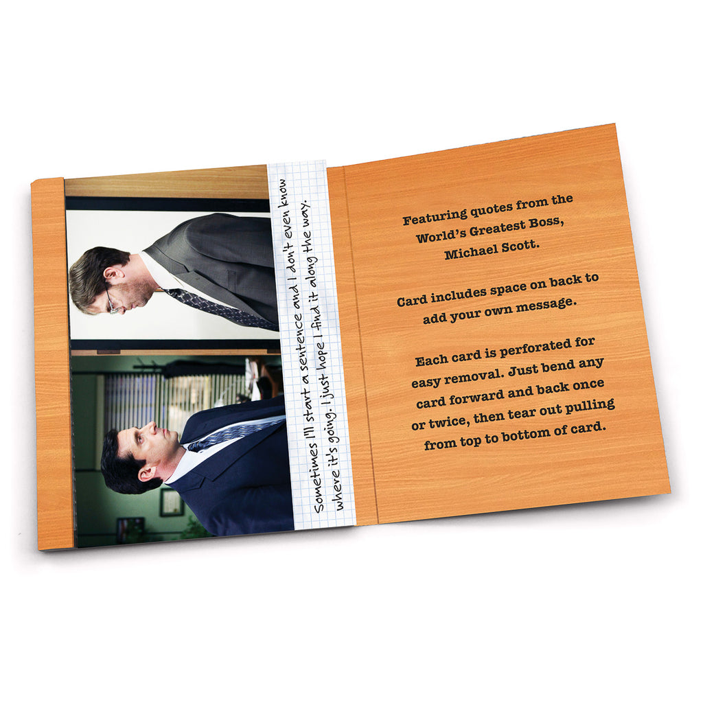 Jumbo Lunch Notes: The Office, Michael Scott Wisdom Notes - Pack of 6
