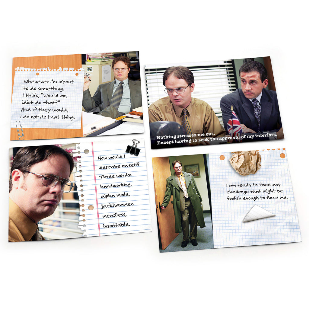 "Dwight Schrute Notes of Wisdom ""Noteables"": Pack of 6"