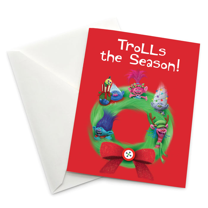 Greeting Card: Trolls, Trolls the Season! - Pack of 6