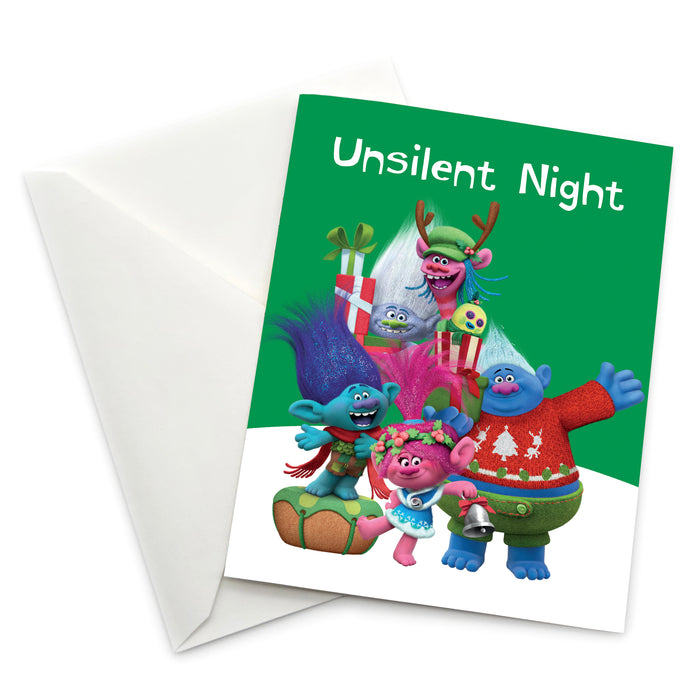 Greeting Card: Trolls, Unsilent Night - Pack of 6