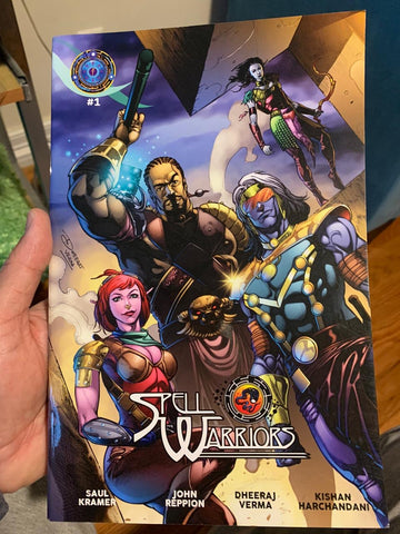 Spell Warriors Issue #1 - Colored Print Version