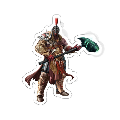 Aksel the Spell Warrior Sticker