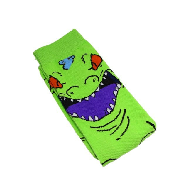 Reptar Socks by NoveltySocks