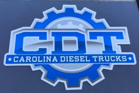 "CDT 4""x 5.5"" Solid Decal"