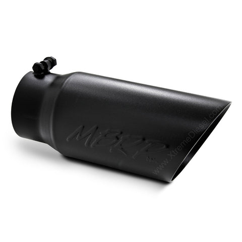 "MBRP Black Angled Exhaust Tip (4"" Inlet, 6"" Outlet)"