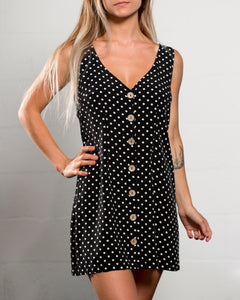 Elliot Vest Dress Dot