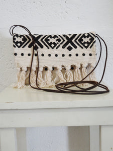 Tribal Print Crossbody Bag