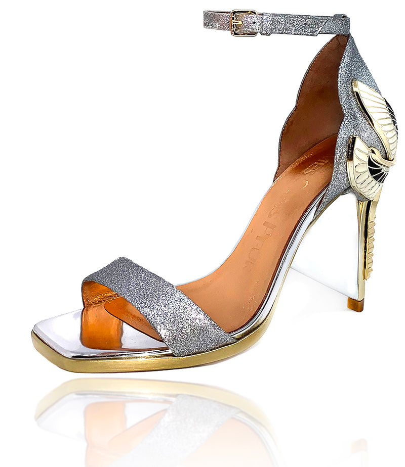 AURORA SANDAL - GLITTER LEATHER SPECIAL EDITION